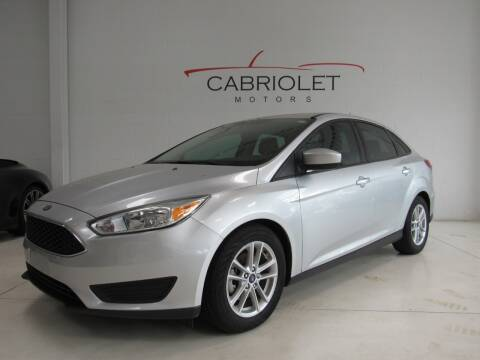 2018 Ford Focus for sale at Cabriolet Motors in Morrisville NC