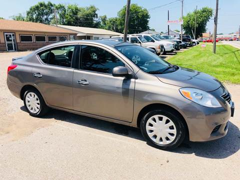 2013 Nissan Versa for sale at Truck City Inc in Des Moines IA