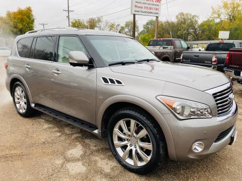 2014 Infiniti QX80 for sale at Truck City Inc in Des Moines IA