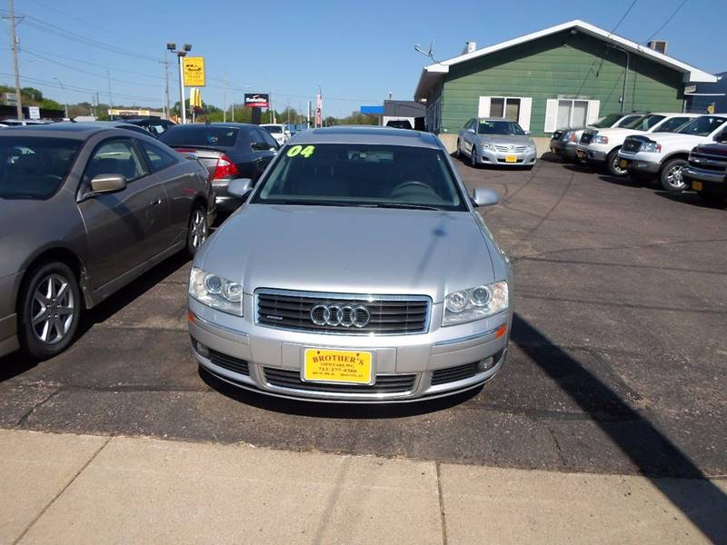 Audi A L AWD Quattro Dr Sedan In Sioux City IA Brothers - Audi awd cars