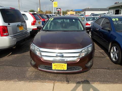 2012 Ford Fusion for sale at Brothers Used Cars Inc in Sioux City IA