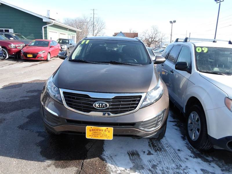2011 Kia Sportage for sale at Brothers Used Cars Inc in Sioux City IA