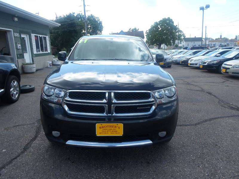 2011 Dodge Durango for sale at Brothers Used Cars Inc in Sioux City IA