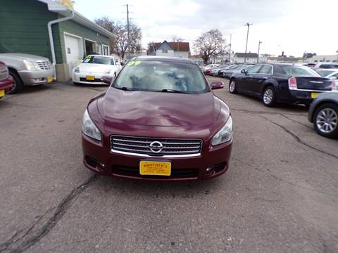 2009 Nissan Maxima for sale in Sioux City, IA