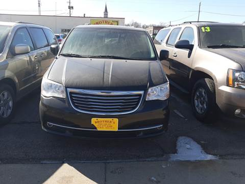 2013 Chrysler Town and Country Touring for sale at Brothers Used Cars Inc in Sioux City IA