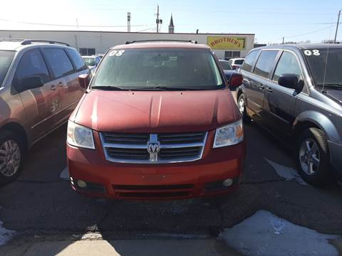 2008 Dodge Grand Caravan SXT for sale at Brothers Used Cars Inc in Sioux City IA