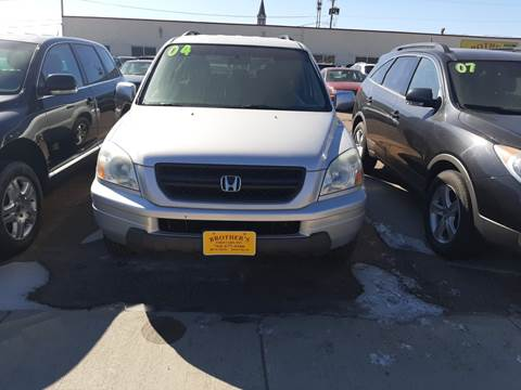 2004 Honda Pilot EX for sale at Brothers Used Cars Inc in Sioux City IA