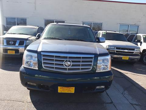 2005 Cadillac Escalade for sale at Brothers Used Cars Inc in Sioux City IA