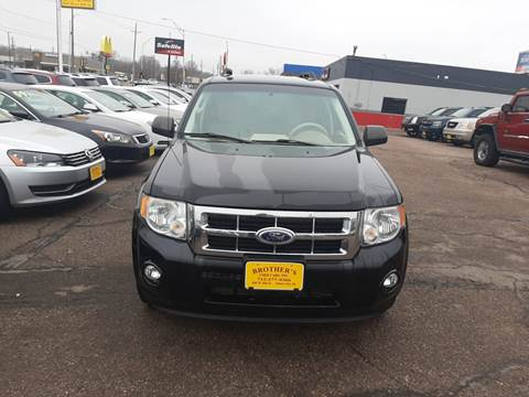 2010 Ford Escape XLT for sale at Brothers Used Cars Inc in Sioux City IA