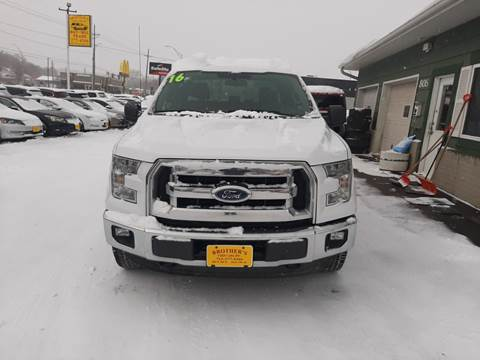 2016 Ford F-150 XLT for sale at Brothers Used Cars Inc in Sioux City IA