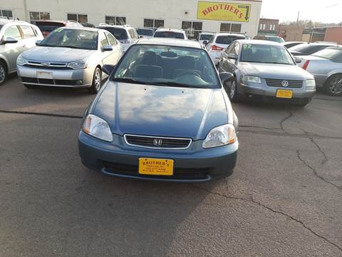1997 Honda Civic DX for sale at Brothers Used Cars Inc in Sioux City IA