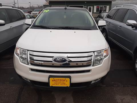 2010 Ford Edge Limited for sale at Brothers Used Cars Inc in Sioux City IA