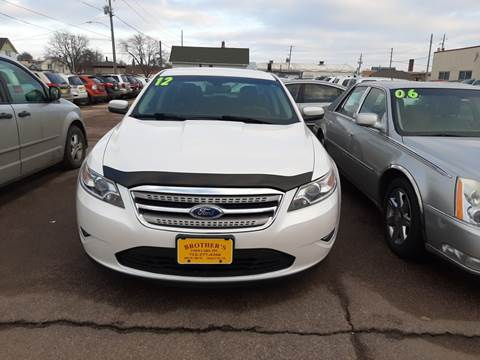 2012 Ford Taurus SEL for sale at Brothers Used Cars Inc in Sioux City IA