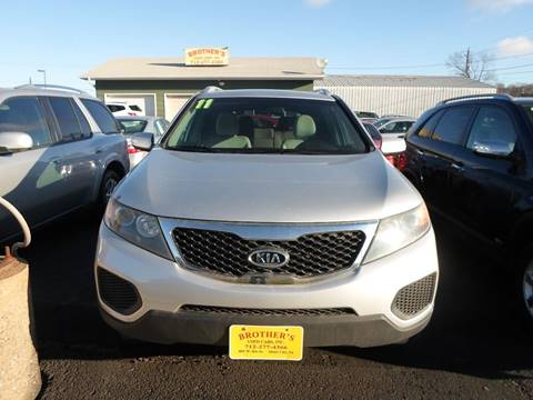 2011 Kia Sorento for sale at Brothers Used Cars Inc in Sioux City IA