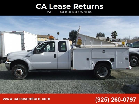 2003 Ford F-450 Super Duty for sale at CA Lease Returns in Livermore CA