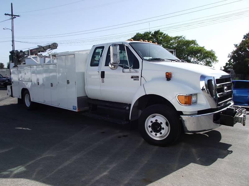 2007 Ford F-650 Super Duty for sale at CA Lease Returns in Livermore CA