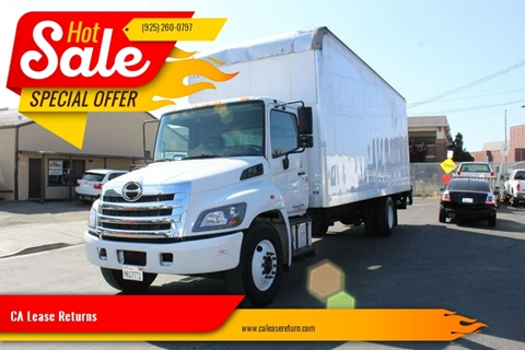 2016 Hino 268 268A for sale at CA Lease Returns in Livermore CA