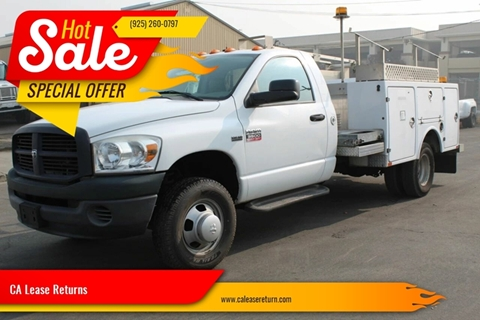 2008 Dodge Ram Chassis 3500 for sale at CA Lease Returns in Livermore CA