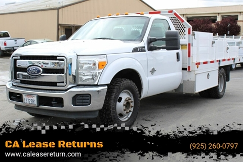 2012 Ford F-350 Super Duty for sale at CA Lease Returns in Livermore CA