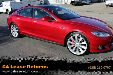 2014 Tesla Model S for sale at CA Lease Returns in Livermore CA