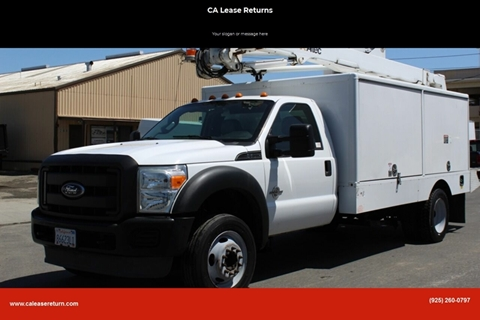 2012 Ford F-550 Super Duty for sale in Livermore, CA