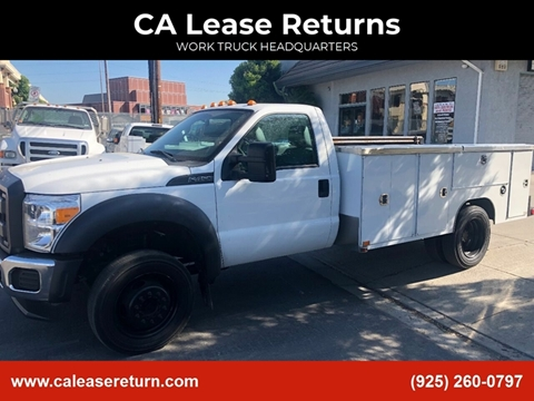 2014 Ford F-450 Super Duty for sale at CA Lease Returns in Livermore CA