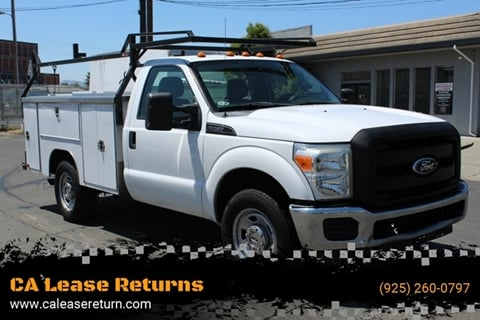 2011 Ford F-350 Super Duty for sale at CA Lease Returns in Livermore CA
