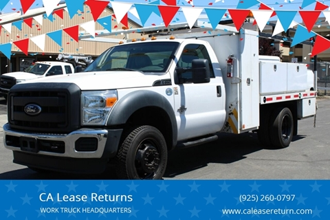 2012 Ford F-550 Super Duty for sale in Livermore, CA
