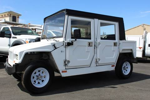 2011 Eride EXV4 Electric Hummer Street Lg for sale at CA Lease Returns in Livermore CA