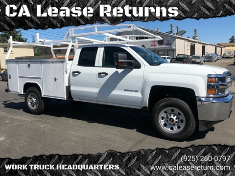 2019 Chevrolet Silverado 2500HD for sale at CA Lease Returns in Livermore CA