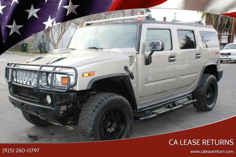 2003 HUMMER H2 for sale at CA Lease Returns in Livermore CA