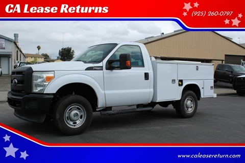 2014 Ford F-250 Super Duty for sale at CA Lease Returns in Livermore CA