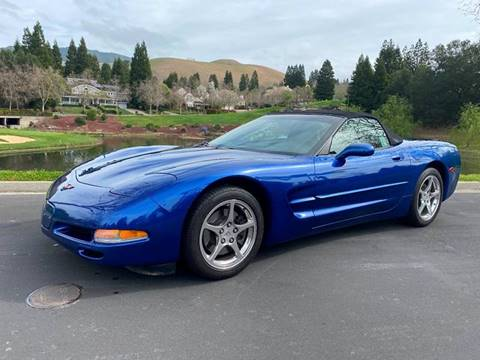 2002 Chevrolet Corvette for sale at CA Lease Returns in Livermore CA