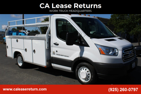 2015 Ford Transit Chassis Cab for sale at CA Lease Returns in Livermore CA