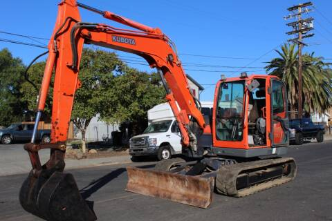 2013 Kubota KX-080-3 for sale at CA Lease Returns in Livermore CA