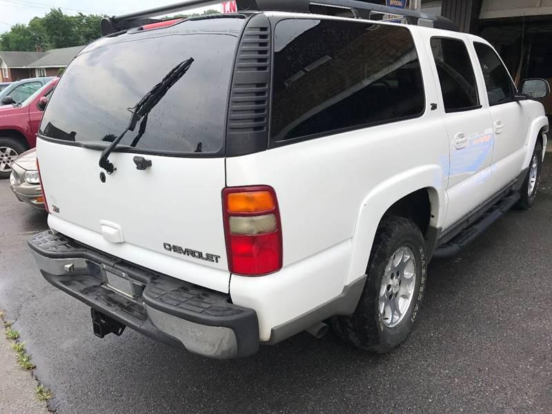 2002 Chevrolet Suburban 1500 LT 4WD 4dr SUV - Bangor PA