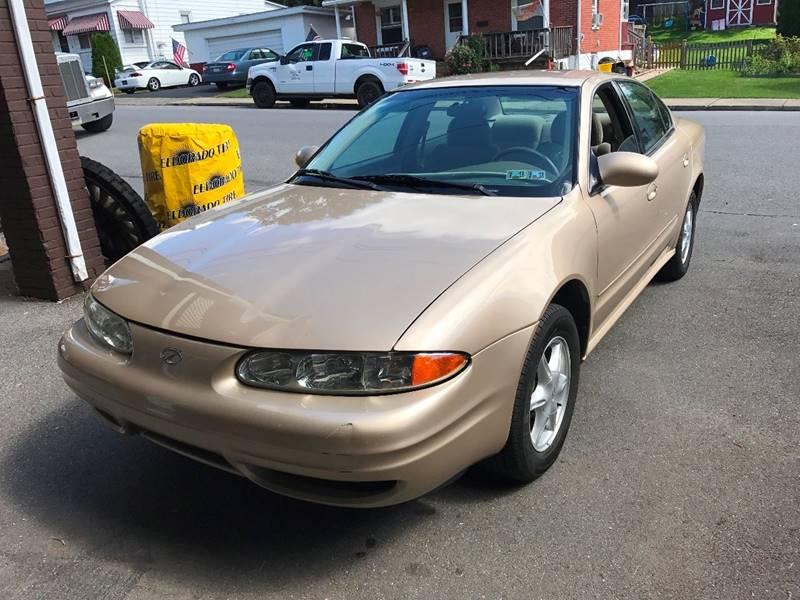 2000 Oldsmobile Alero GL 4dr Sedan - Bangor PA