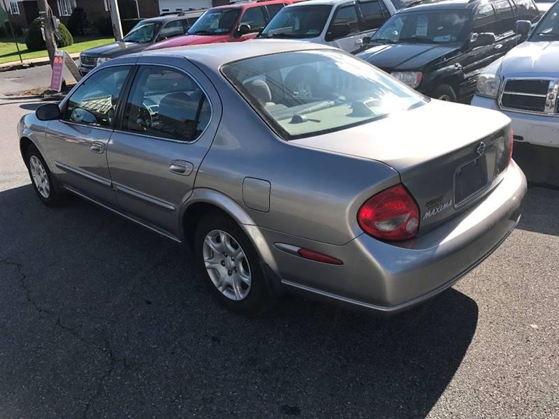2000 Nissan Maxima GLE 4dr Sedan - Bangor PA