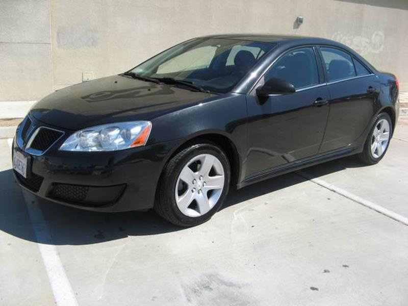 2010 Pontiac G6  - Fresno CA