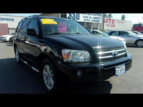 2006 Toyota Highlander Hybrid for sale in Fresno, CA