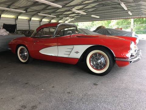 1961 Chevrolet Corvette for sale at F & A Corvette in Colonial Beach VA