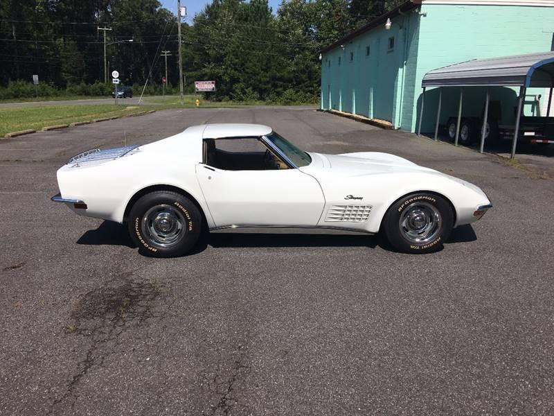 1970 Chevrolet Corvette for sale at F & A Corvette in Colonial Beach VA
