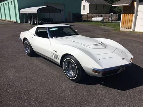 1972 Chevrolet Corvette for sale at F & A Corvette in Colonial Beach VA