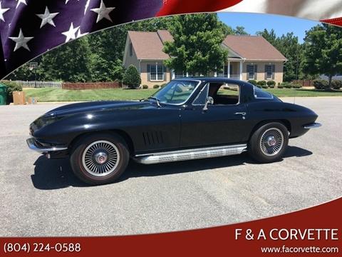 1967 Chevrolet Corvette for sale in Colonial Beach, VA