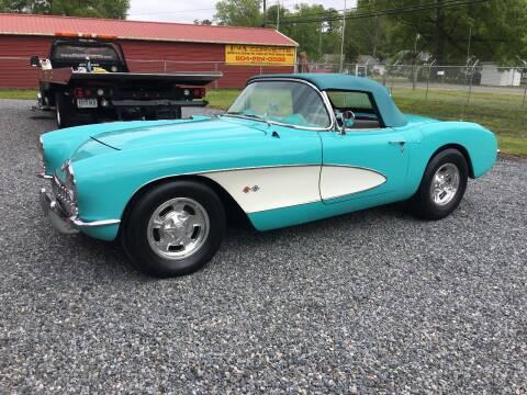 1956 Chevrolet Corvette for sale at F & A Corvette in Colonial Beach VA