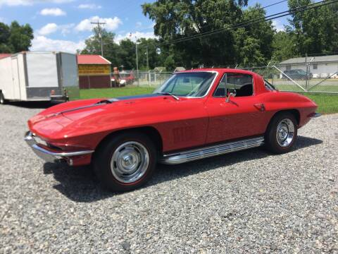1967 Chevrolet Corvette for sale at F & A Corvette in Colonial Beach VA