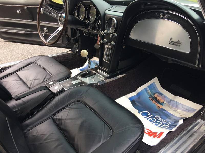 1965 Chevrolet Corvette 327/350HP #`S MATCH 4 SPEED TRIPLE BLACK - Colonial Beach VA