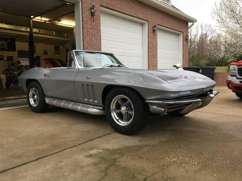 1965 Chevrolet Corvette 327/365HP #`S MATCH 4 SPEED SILVER PEARL/BLACK - Colonial Beach VA