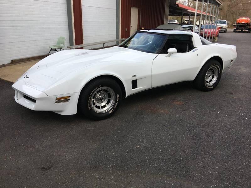 1980 Chevrolet Corvette for sale at F & A Corvette in Colonial Beach VA