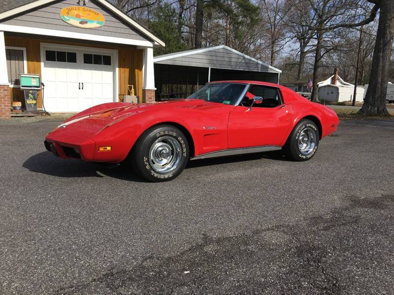 1975 Chevrolet Corvette ONE OWNER LOW MILES 4 SPEED WITH DOCS - Colonial Beach VA